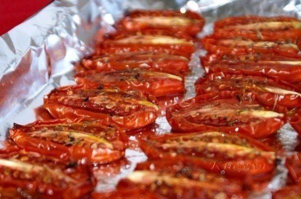 Самые вкусные вяленые помидоры. Таких вы еще не пробовали.